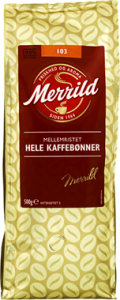 Merrild Coffee Whole Beans