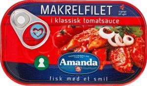 Amanda Mackerel in Classic Tomato Sauce