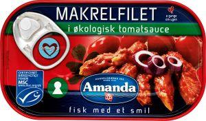 Amanda Mackerel in Organic Tomato Sauce