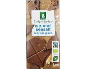 Änglamark Økologisk Caramel Seasalt Milk Chocolate