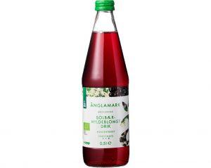 Änglamark Organic Blackcurrant Elderflower Syrup