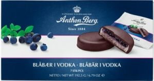 Anthon Berg Blueberries in Vodka