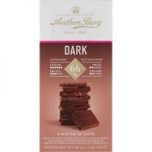 Anthon Berg Dark Chokolade 66%