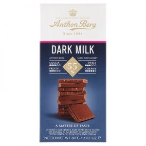 Anthon Berg Dark Milk Chokolade 55%