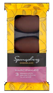 Spangsberg Easter Chocolate Marzipan Eggs