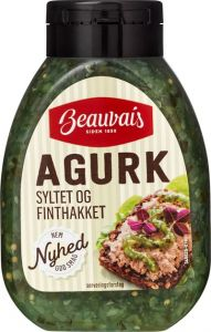 Beauvais Pickled Cucumber Finely Sliced Nordic Expat Shop