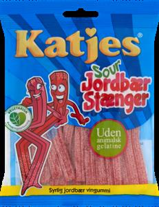 Katjes Sour Strawberry Sticks