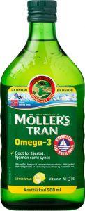 Möller's Tran Citrus 0,5 L