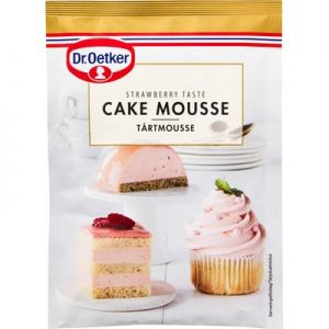 Dr. Oetker Strawberry Cake Mousse