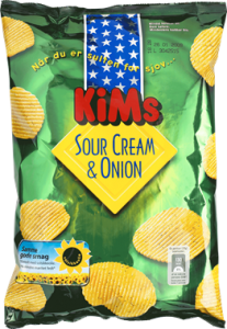 KiMs Sour Cream & Onion Chips