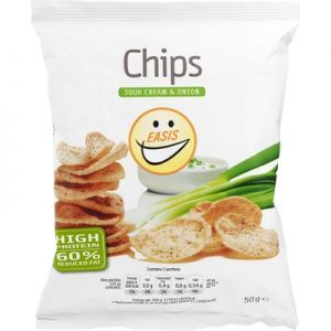 Easis Chips Med Sour Cream & Onion