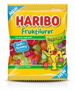 Haribo Fruktilurer Frugt & Bær