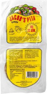 Jacob's Whole Grain Pita 2-pack