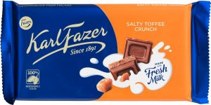Karl Fazer Chocolate Salty Toffee Crunch