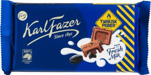 Karl Fazer Chocolate Turkish Pepper