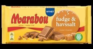 Marabou Fudge & Havsalt Chokolade