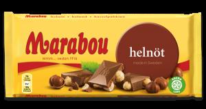 Marabou Hasselnødder Chokolade