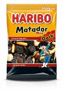 Haribo Matador Dark Mix 0,35 kg
