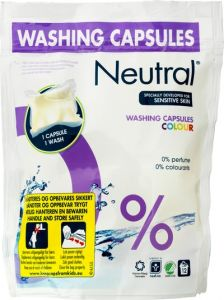Neutral Washing Capsules Colour