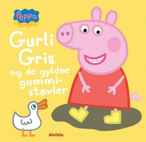 Peppa Pig, Gurli Gris and the golden rubber boots