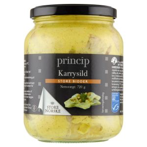 Princip Curry Herring Large Bites