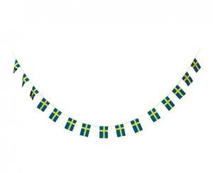 Svensk Flag Guirlande