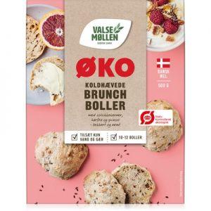 Valsemøllen Økologiske Koldhævede Brunchboller Mix