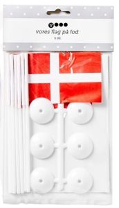 Vores Danish Table Flags With Holder